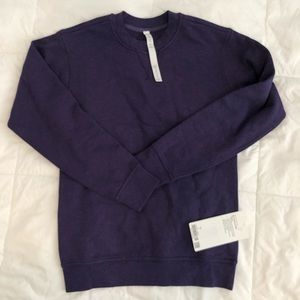 Lululemon all yours crew terry 2 purple sweater Xs